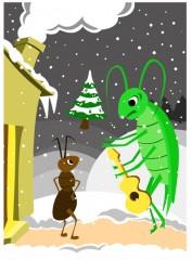 R novation passive - Dessin la cigale et la fourmi ...