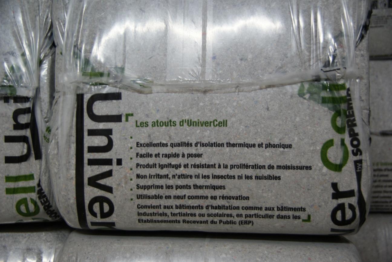 Insufflation de la ouate de cellulose r novation passive for Avantage ouate de cellulose