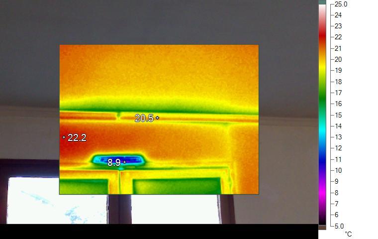 Mot cl thermographie r novation passive for Pont thermique fenetre
