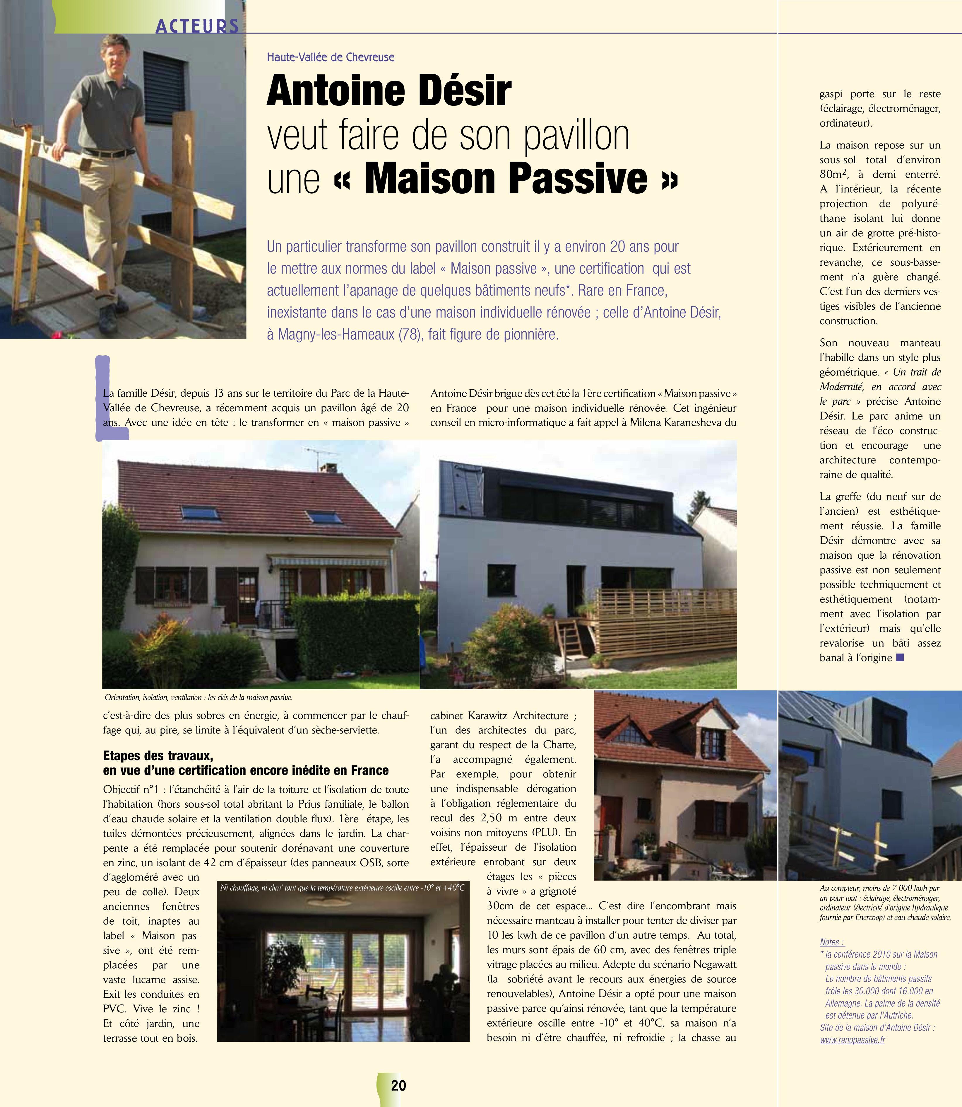 isolation maison 30 ans