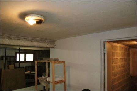 Sous sol technique d 39 isolation r novation passive for Faire un sous plafond