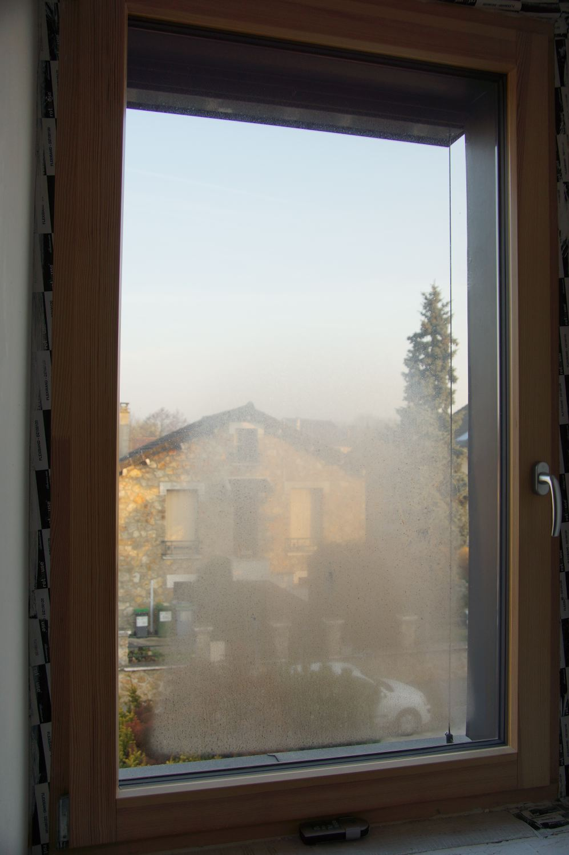 Condensation extérieure