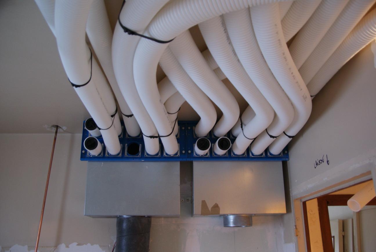 Plomberie Salle De Bain Sous Sol mot-clé - gaines - rénovation passive
